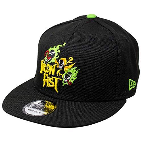 New Era Iron Fist 9Fifty boné ajustável preto