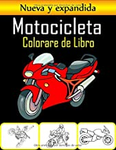 M o t o c i c l e t a C o l o r a r e  d e  L i bro: 50 páginas para colorear de motocicletas de alta calidad para niños y adolescentes