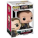 Funko Pop Heroes : Suicide Squad - Rick Flag Figure Gift Vinyl 3.75inch for Villain Heros Movie Fans...