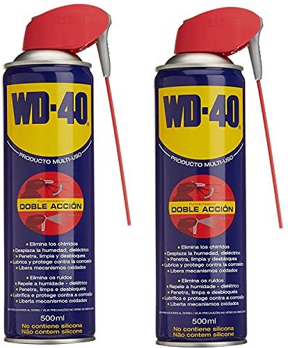 WD-40 Lote de 2 botes Doble Accion 500 ml
