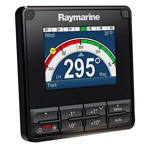 Raymarine P70S Control Piloto Automático con Pantalla de 3.5 Pulgadas Resistencia al Agua IPX6 E70328 Unidad, Negro