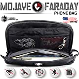Mission Darkness Mojave Faraday Phone Bag — Multi-Functional Travel Case with Accessory Pockets and Built-in Faraday Sleeve / Signal-Blocking, Anti-Tracking, Anti-Hacking, EMF Reduction