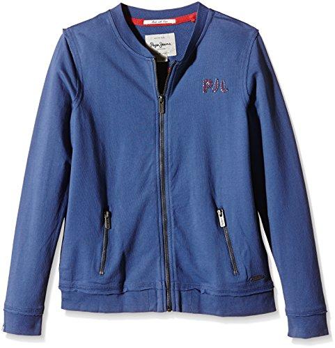 Pepe Jeans Mädchen Fabia Sweatshirt, Blau (Indigo), 16 Jahre