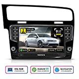 NEOTONE WRX-906G7 Autoradio für VW Golf 7 (ab 2012 -) Can-Bus | Android 9 Pie | Navigation mit Europakarten | DAB+ | 4GB RAM | 32GB ROM | Octa-Core | 4K Ultra HD | WLAN | Bluetooth | RDS