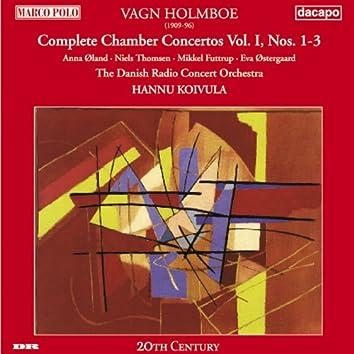 Holmboe: Chamber Concertos Nos. 1-3