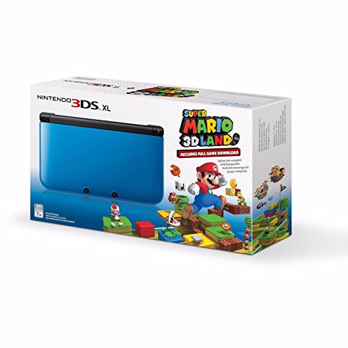 Nintendo 3DS XL Console with Super Mario 3D Blue [video game]