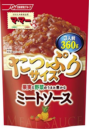 日清フーズ マ マー 果実と野菜のうまみ豊かなミートソース(360g) ×5個