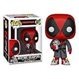 Funko- Figura Pop Marvel Parody Deadpool in Robe Vinilo, Multicolor (31118)...