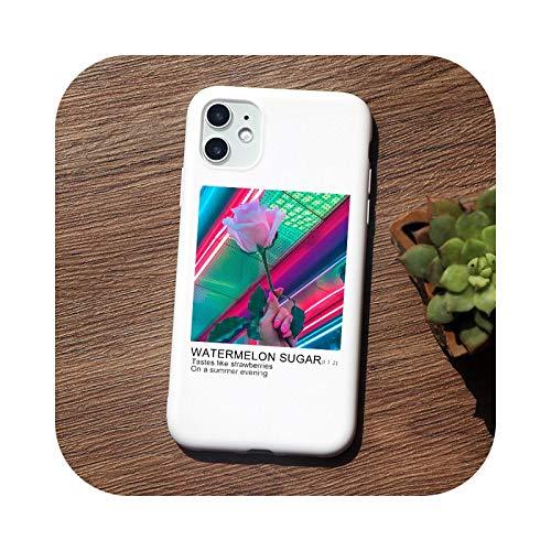 Love on Tour funda de teléfono de línea fina para iPhone 11 Pro Max X XS Max XR 8plus 6 6S 6 Plus 7 Plus 5 5S SE funda de TPU suave Q784-W-For 11 PRO MAX