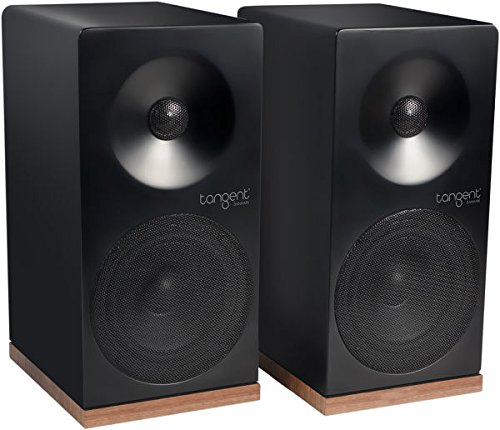 Tangent Spectrum X4 80W Schwarz - Lautsprecher (2-Wege, 2.0 Kanäle, Verkabelt, 80 W, 70-20000 Hz, Schwarz)