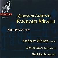 Pandolfi Mealli - Violin Sonatas by Andrew Manze (1994-02-01)