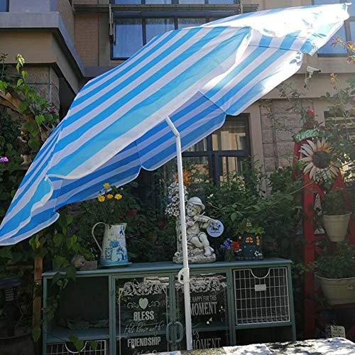 LNX Parapluie Extérieur Parasol Portable Parapluie de Jardin Rond Parasols de Terrasse, Parasol Parapluie de Marché Hauteur Ajustable, Angle d'inclinaison, Style hawaïen