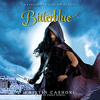 Bitterblue     Seven Kingdoms Trilogy, Book 3              By:                                                                                                                                 Kristin Cashore                               Narrated by:                                                                                                                                 Emma Powell                      Length: 17 hrs and 58 mins     73 ratings     Overall 4.5