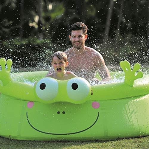 PlayFunWater Aufblasbarer Frosch Pool Kinder/Baby - Pool/Planschbecken