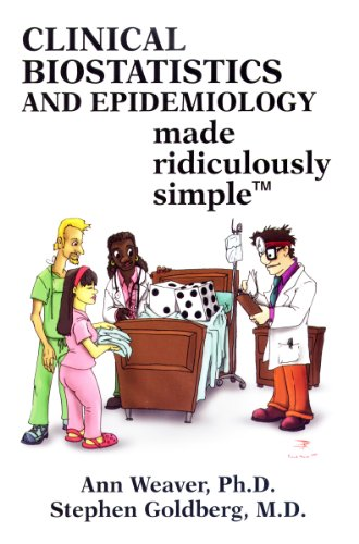 Compare Textbook Prices for Clinical Biostatistics and Epidemiology Made Ridiculously Simple 1 Edition ISBN 9781935660026 by Ann Weaver,Stephen Goldberg