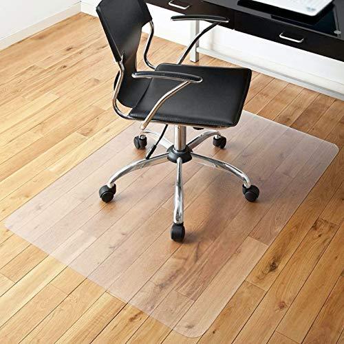 【Amazon限定ブランド】 チェアマット 床保護 マット シート 透明 床暖房対応 厚さ1.5mm PVC 100 x 120mm