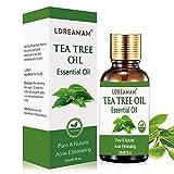 Aceite esencial de árbol de té,aceite de acné natural,El tratamiento para el acné, manchas...
