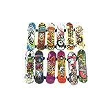 Earlyad Kit De Skate Park Finger Skate Park Toy Mini Juego De Rieles De Diapasón Fingerboard Skate Park Skateboard Toy Starter con Fingerboards para Niños Adultos Good-Looking