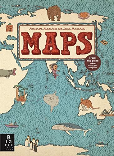 Maps: Aleksandra Mizielinska - Daniel Mizielinski