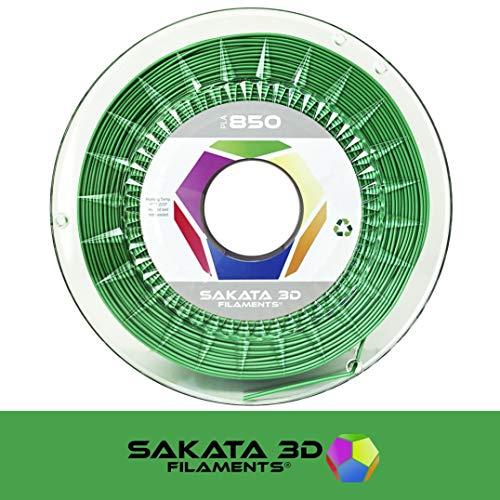 450g de Filamento PLA 3D850 1.75MM, Ingeo Biopolymer - Colores SILK (Clover/Trébol)