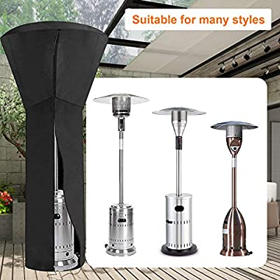 Amazon - Save 50%: JIUYIBC Patio Heater Cover,Outdoor Heater Cover Waterproof with Zi…