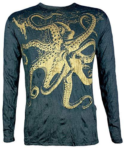 Sure Clothing Herren Longsleeve T-Shirt...