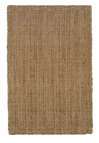 Jute Co. Handgewebter Naturfaser-Juteteppich, 140 x 200 cm