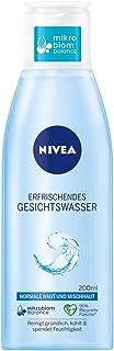 NIVEA Erfrischendes Gesichtswasser für normale und Mischhaut 200 ml, Gesichtstoner belebt & erfrischt die Haut, mildes Gesichtswasser spendet intensive Feuchtigkeit