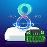 Cocotron 2020 Latest Version Unblock Tech UBOX Gen8 UBOX8 i10 4G RAM+64G ROM Unblock ubox8 PRO MAX Support 5G WiFi US Licensed Android Box World Wide Certification
