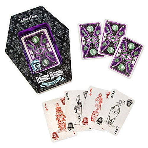 Disney Theme Park Exclusive Haunted Mansion Glow in the Dark Playing Cards by Disney