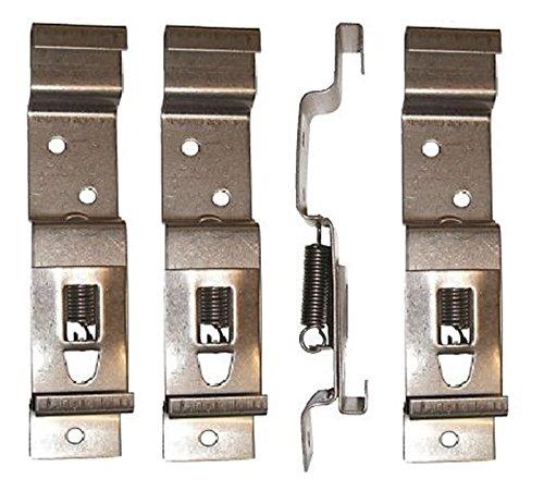 Leisure MART 4 x Remolque placa de matrícula o soportes de resorte de acero inoxidable Pt no. LMX2104