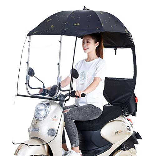 Universele buiten auto motor mobiliteit zonnescherm regenhoes, waterdichte motorfiets voorruit, fiets regen schaduw parasol