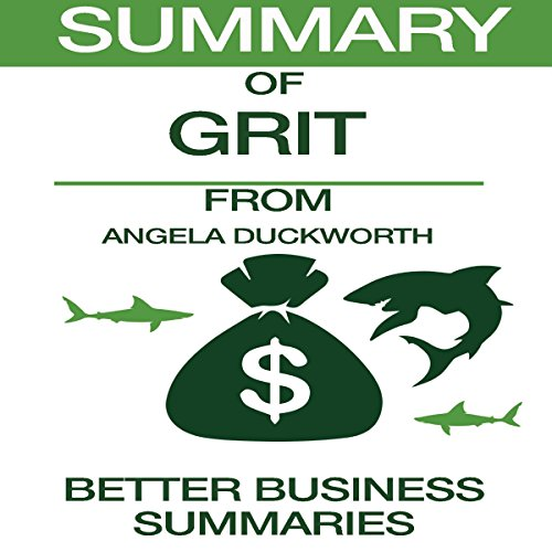 Summary of Grit from Angela Duckworth audiobook cover art