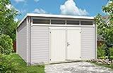 CARLSSON Gartenhaus Modell Maria-Viva28, 28 mm Wandstärke (420 x 420 cm)