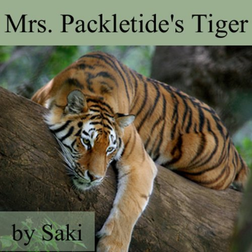 Mrs. Packletide's Tiger audiobook cover art