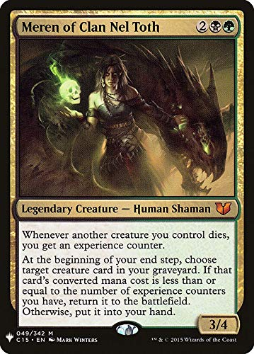Magic: The Gathering - Meren of Clan Nel Toth - Mystery Booster - Commander 2015