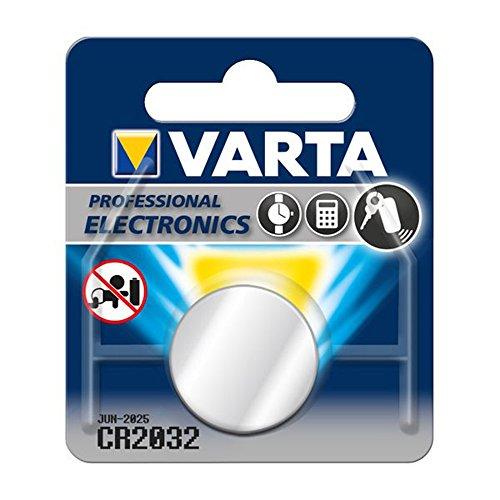 Varta CR2032 Lithium Knopfzellen 3V Batterie in Original Blisterverpackung, 1er Pack