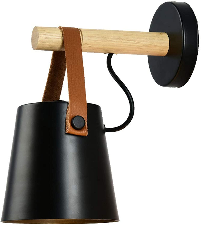 BEI KE Wandleuchten Aus Holz Für Wohnzimmer Schlafzimmer LEW-012,schwarz