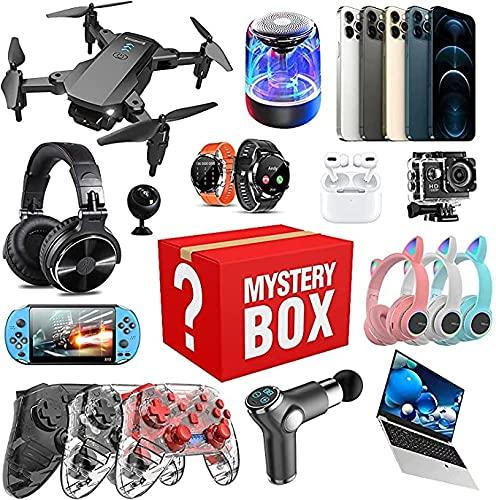 LBXZ Caja electrónica, regalos para vacaciones, Halloween, Navidad, amigos familiares