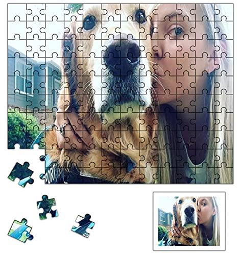 Louisleo Puzzle Personalizado 500 1000 1500 Piezas con Tu Foto Adulto de Madera - Diseño Desde Cualquier Imagen Puzzles Boda