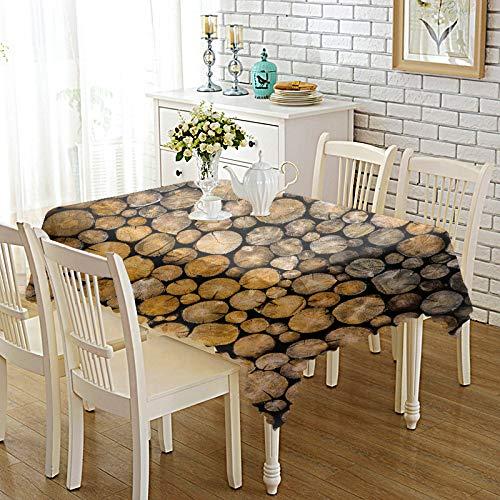 DREAMING-Verdickte Bedruckte Stoff Tischdecke Home Esstisch Stoff Tv-Schrank Couchtisch Stoff Runde Tisch Tischset 85cm * 85cm