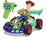 Dickie- Toy Story 4 – Mando a Distancia Buggy con Woody, 1:24, 20 cm, Color Verde, 201134005
