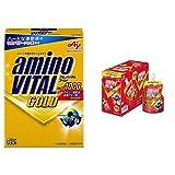 【セット買い】アミノバイタル GOLD 14本入箱 & パーフェクトエネルギー 130g×6個
