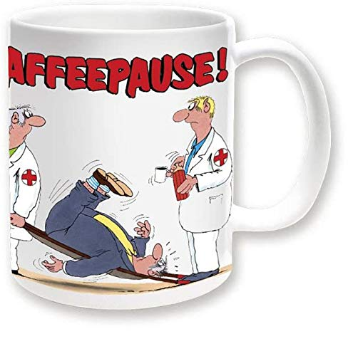 Uli Stein Becher Kaffeepause Sanitäter