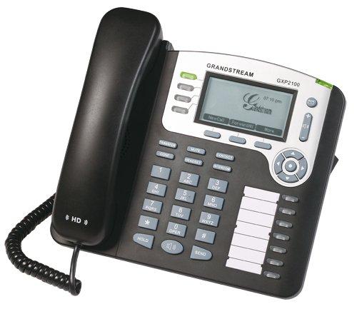 Grandstream GXP2100 Mainstream 4-Line IP Business Phone