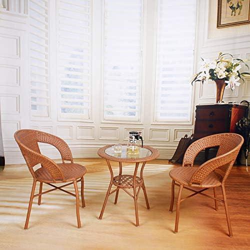Balkon Freizeit Nachahmung Rattan Stuhl Couchtisch Und Stuhl Im Freien Weißebe Stuhl Teetisch Drei Sätze