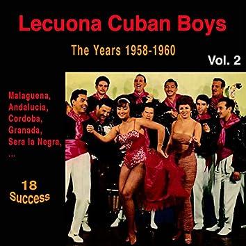 Lecuona Cuban Boys, Vol. 2 (The Years 1958 - 1960) [18 Success]
