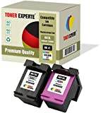 Pack de 2 XL TONER EXPERTE® Cartuchos de Tinta compatibles con HP 901XL CC654AE CC656AE para HP OfficeJet 4500 G510a G510g G510n J4500 J4524 J4535 J4540 J4550 J4580 J4660 J4680 J4680c (Negro, Color)