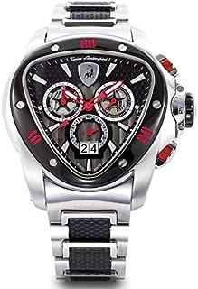 Tonino Lamborghini Spyder for Men - Analog Stainless Steel Band Watch - 1114