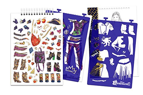 Make It Real Disney Descendants 2 Fashion Design Sketchbook Import It All